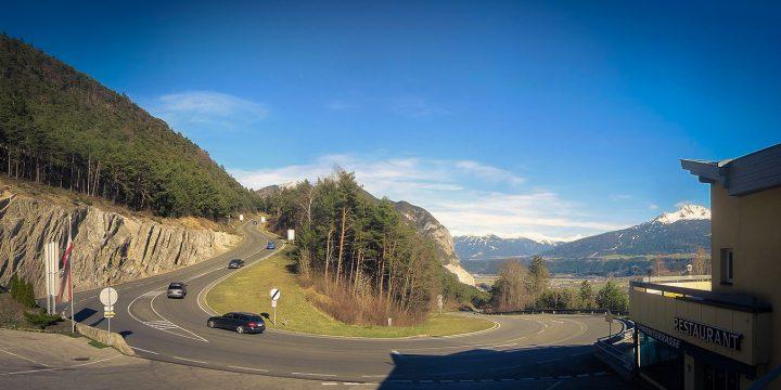 Passstraße Zirler Berg